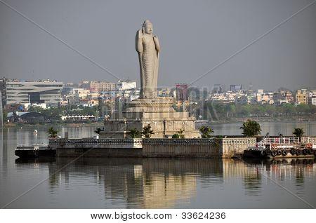 Buddha at Hussian Sagar