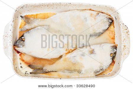 Fish Baked In Sea Salt