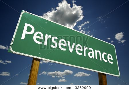 Perseverance Road Sign