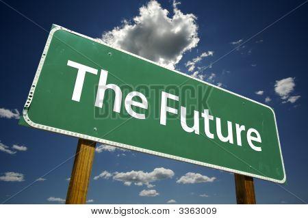O sinal de estrada do futuro