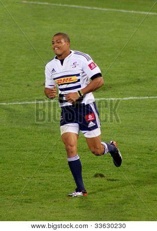 Rugby Juan De Jongh Stormers South Africa 2012