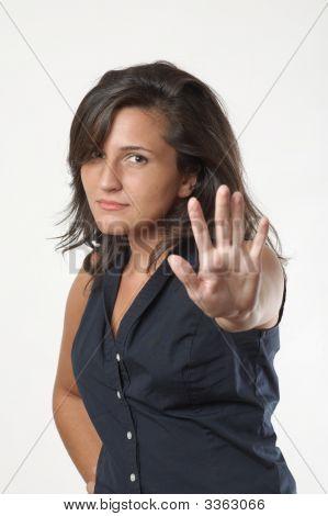Woman Stop