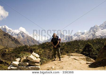 Ama Dablam Trekker - Nepal