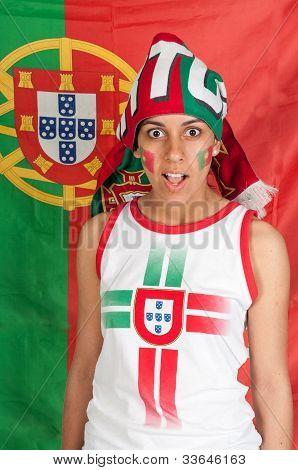 Portugal soccer fan