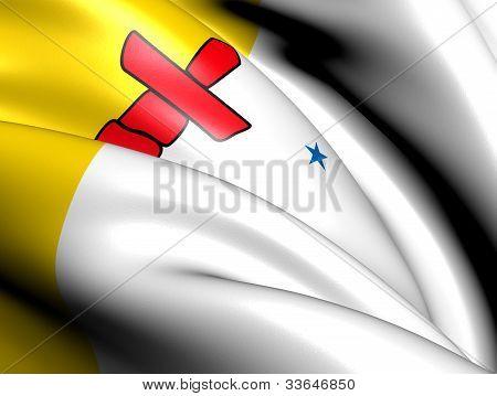 Bandeira de Nunavut, Canadá.