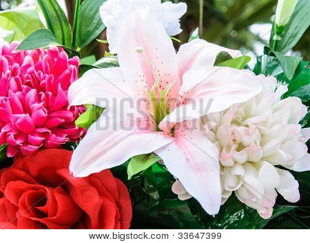 Colorful Artificial Flower