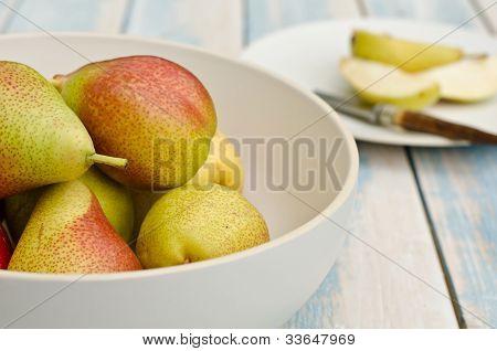 blush pears