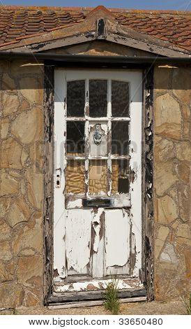 Rotting Wooden Door