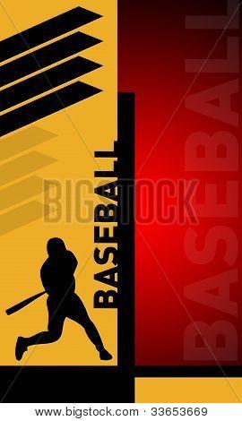 Abstract Baseball