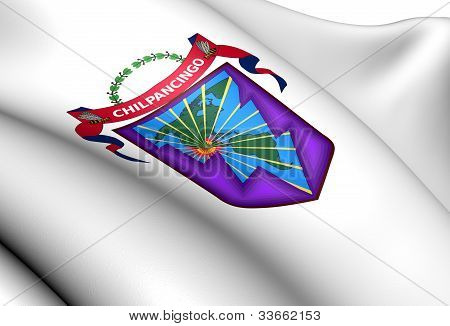 Chilpancingo De Los Bravo Coat Of Arms, Mexico.