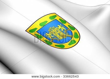 Mexico City Flag, Mexico.