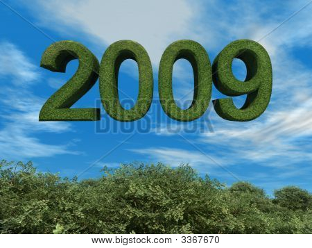 Green 2009 Eco Theme