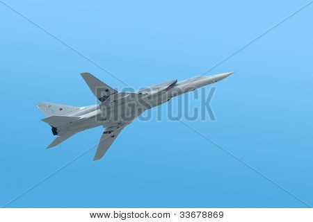 tu-22 is supersonic bomber
