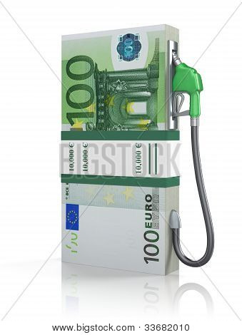 Euro stack with gas nozzle