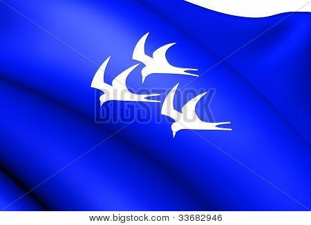 Flag Of Roan, Norway.