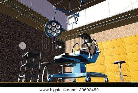 gynecologist cabinet