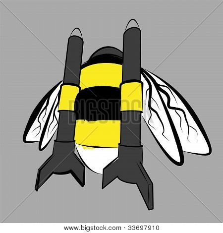 rocket bumble-bee