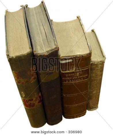 Books Standing