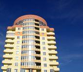 pic of vinnitsa  - A modern apartments building viewed from an vinnitsa - JPG