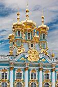 picture of tsarskoe  - golden domes of catherine - JPG