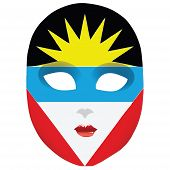 Mask Antigua And Barbuda