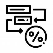 Bonus Scheme Concept Icon Vector. Outline Bonus Scheme Concept Sign. Isolated Contour Symbol Illustr poster