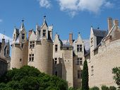 foto of anjou  - Chateau montreuil bellay loire valley - JPG