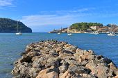 The Photo Was Taken In An Area Called Porto Cristo On The Island Of Palma De Mallorca. The Picture S poster