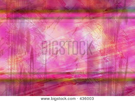 Pink Abstract Background Or Backdrop