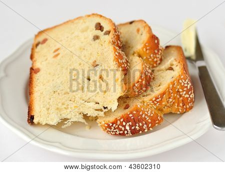 Slices of Sweet Bread