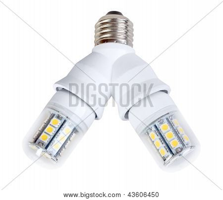 Two Lamps In Splitter