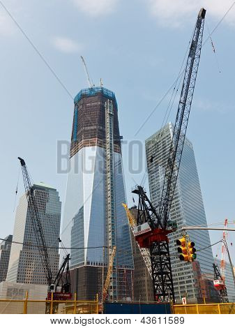 World Trade Center Construction, New York