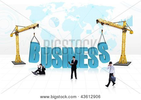 Business People Development - Isolated