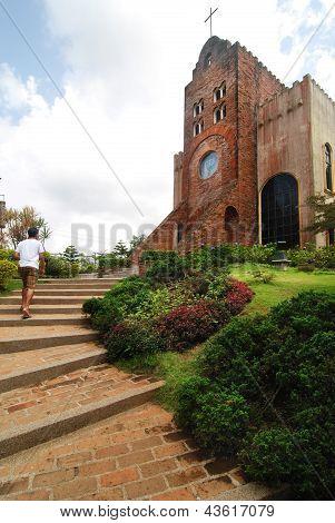 Brick Church on a Hill