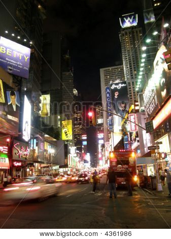 Times Square At Night