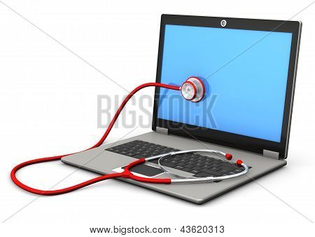 Laptop Stethoscope