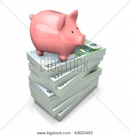 Piggy Bank Euros