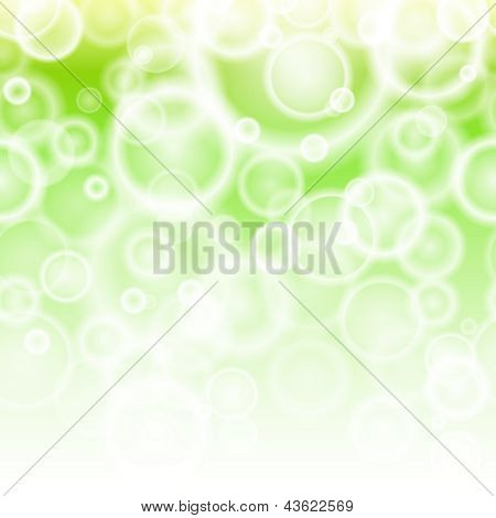 Spring bokeh abstract background