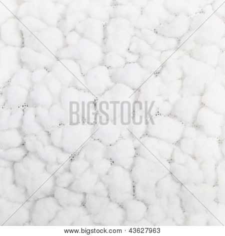 Soft Fluffy White Textile