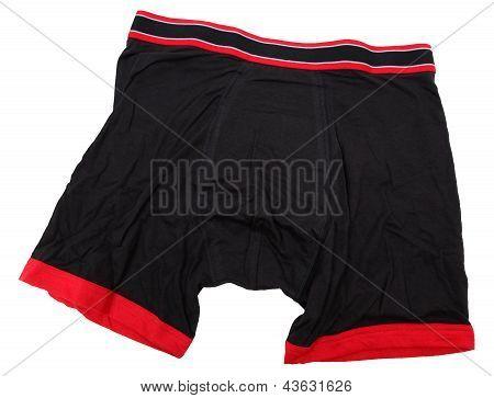 Men's Black Boxer Briefs