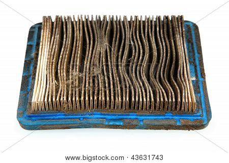 Dirty Air Filter From Lawnmower