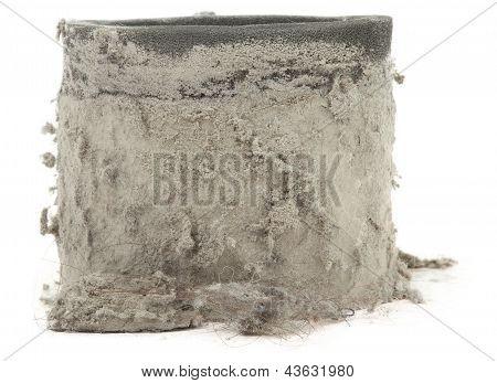 Closeup Of Dirty Filter