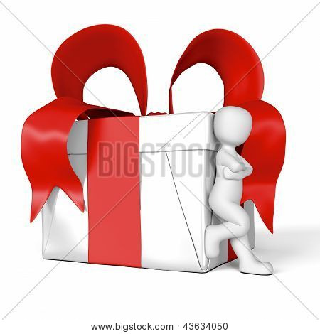 My Gift In Red And White