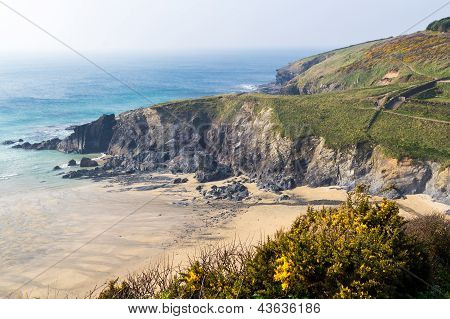 Polurrian Cove Cornwall