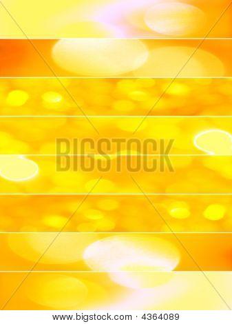 Orange Sparkling Textures