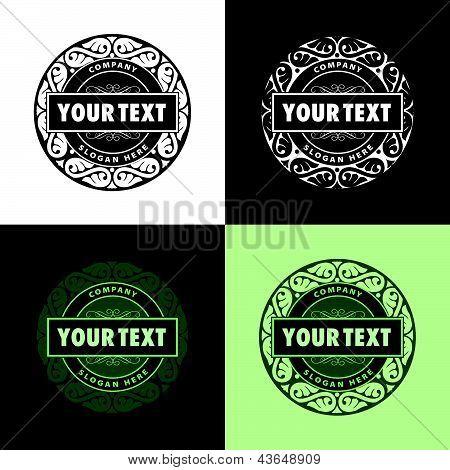 creativo diseño de impresión