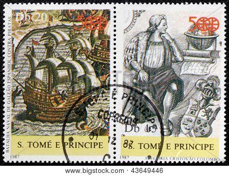 Columbus Stamps