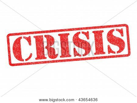 Crisis Rubber Stamp