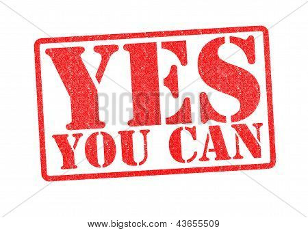 Yes You Can Rubber Stamp