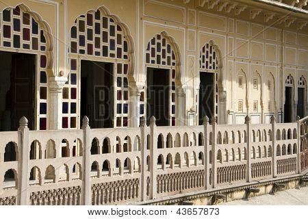 Reisetipp Indien: Balconyl Hawa Mahal Palast In Jaipur